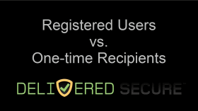 Registered Users vs. One-time Recipients Video